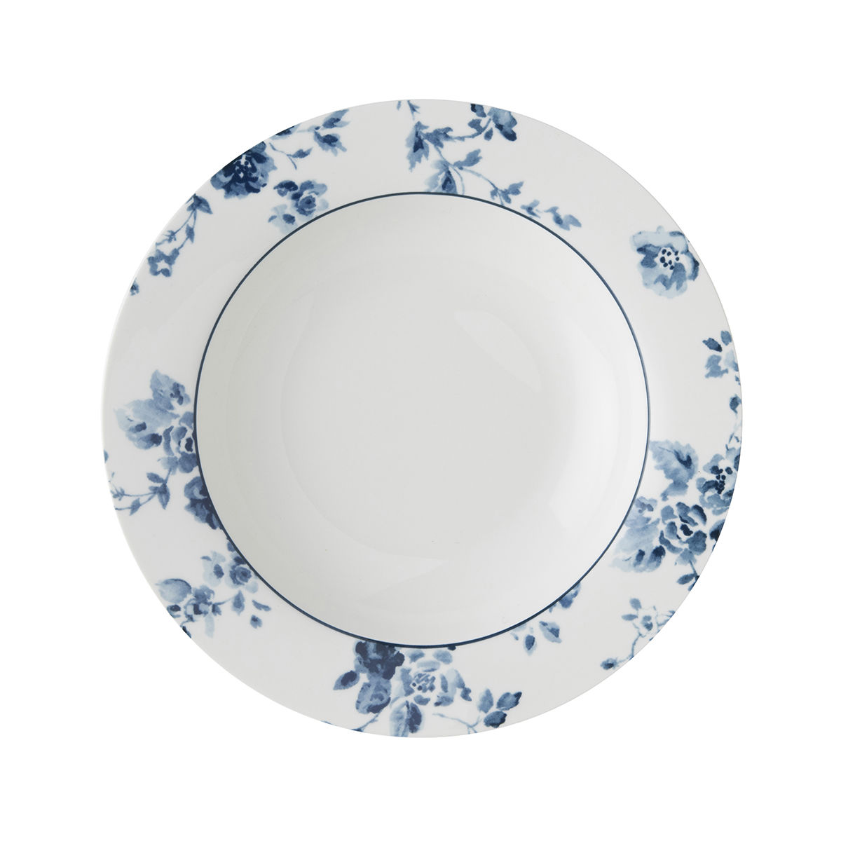 "Laura Ashley 8.4""Deep Plate China Rose - product images  of"