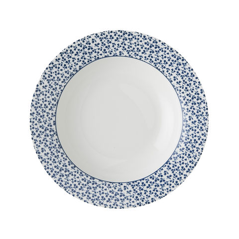Laura,Ashley,8.4,Deep,Plate,Floris,laura-Ashley-Blueprint-Collectables-Tableware-8.4-Deep-Plate-Floris