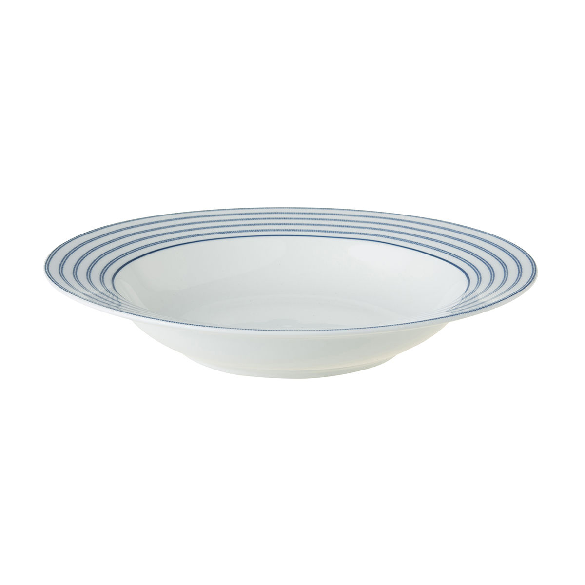 "Laura Ashley 8.4"" Deep Plate Candy Stripe - product images  of"