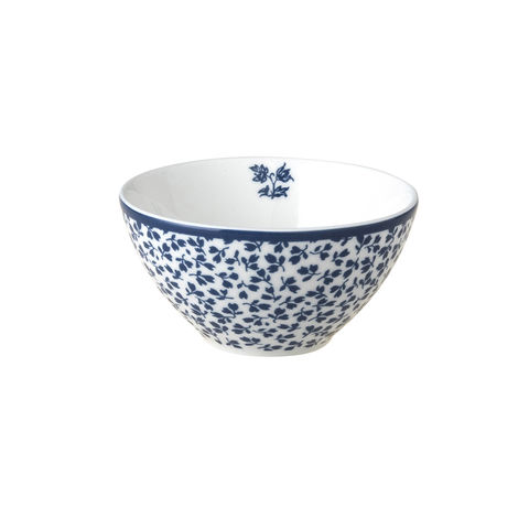 Laura,Ashley,3.4,Bowl,Floris,laura-Ashley-Blueprint-Collectables-Tableware-3.4-Bowl-Floris