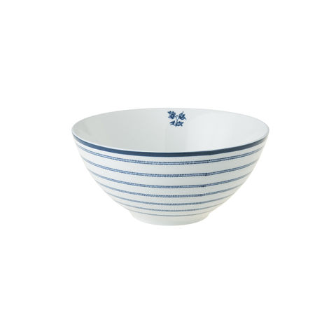 Laura,Ashley,5,Bowl,Candy,Stripe,Laura-Ashley-Blueprint-Collectables-Tableware-5-Bowl-Candy-Stripe