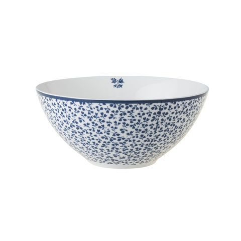 Laura,Ashley,6.4,Bowl,Floris,Laura-Ashley-Blueprint-Collectables-Tableware-6.4-Bowl-Floris