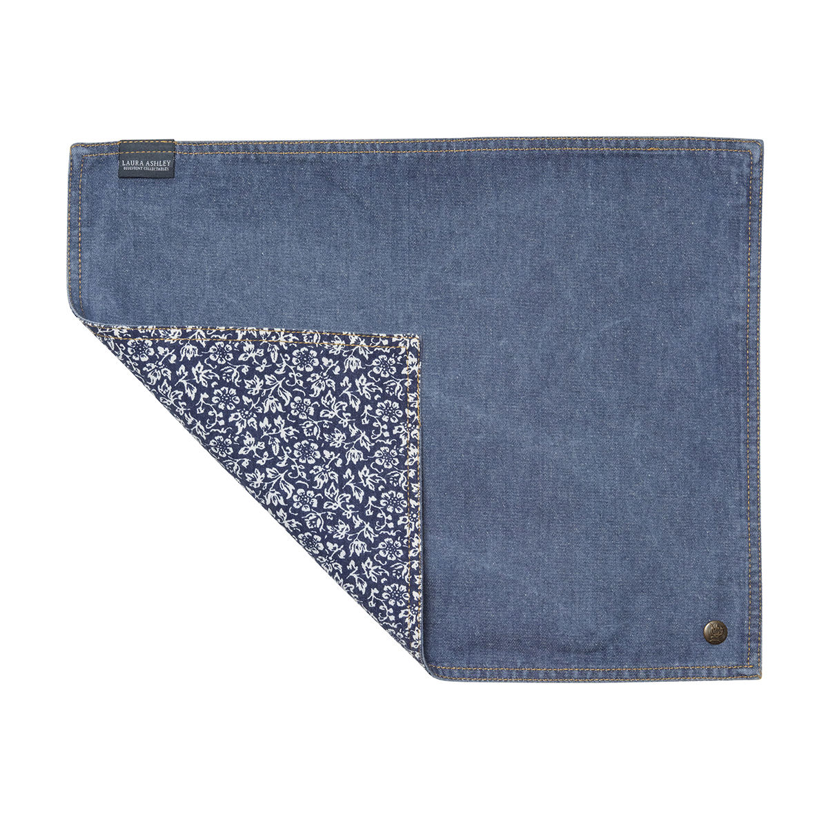 Laura Ashley Placemat Jeans/Sweet Allysum - product images  of