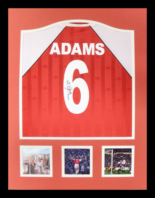 Adams Signed Shirt in a frame - product images