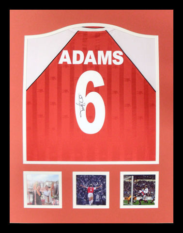 Adams,Signed,Shirt,in,a,frame