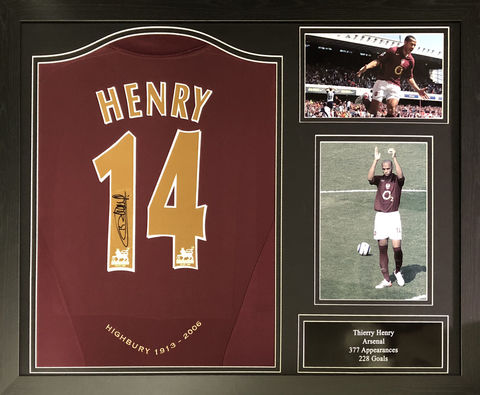 Henry,14,signed,shirt,framed