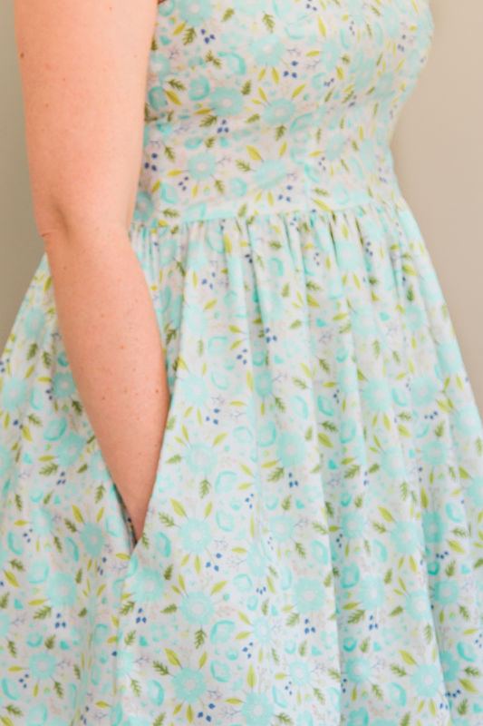 Lotta Dress Pattern - product images  of