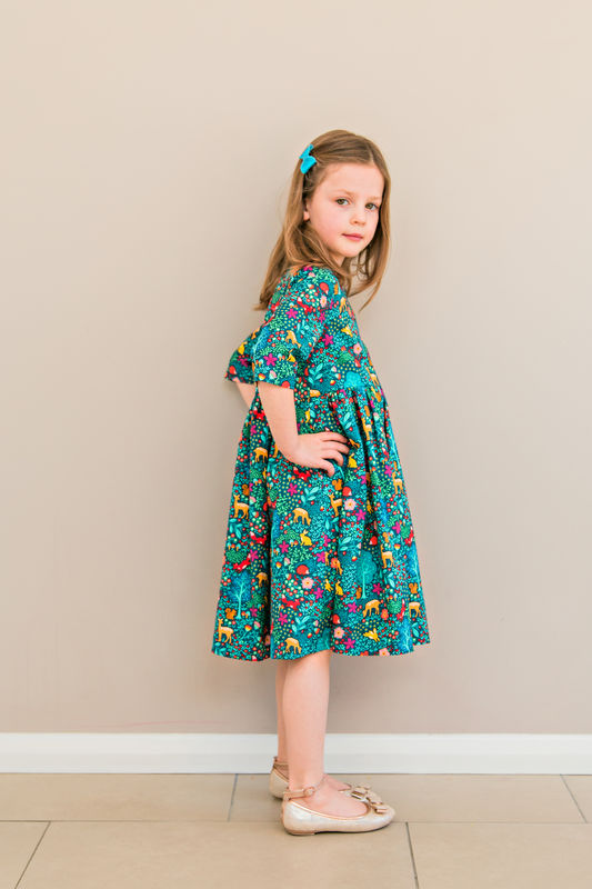 Amelie Dress Pattern - product images  of
