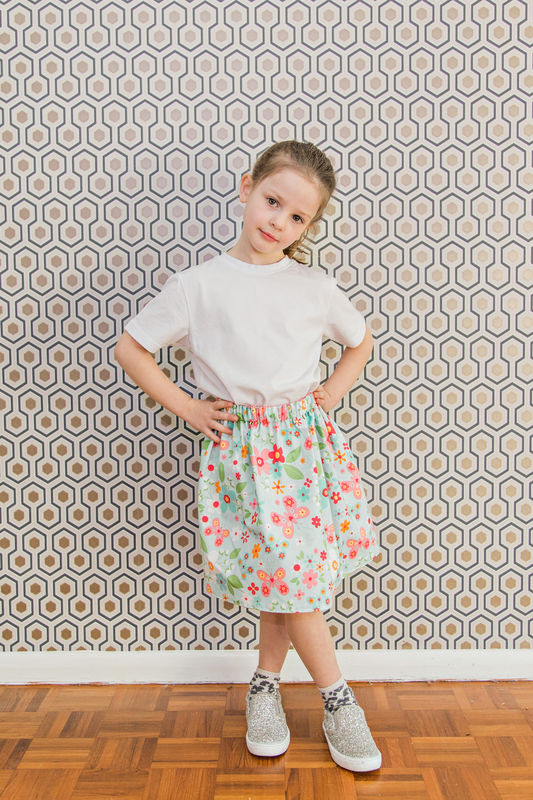 Emporia Patterns Reversible Skirt Instructions - product images  of