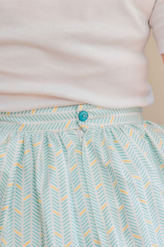 Simple Gathered Skirt Instructions - product images  of