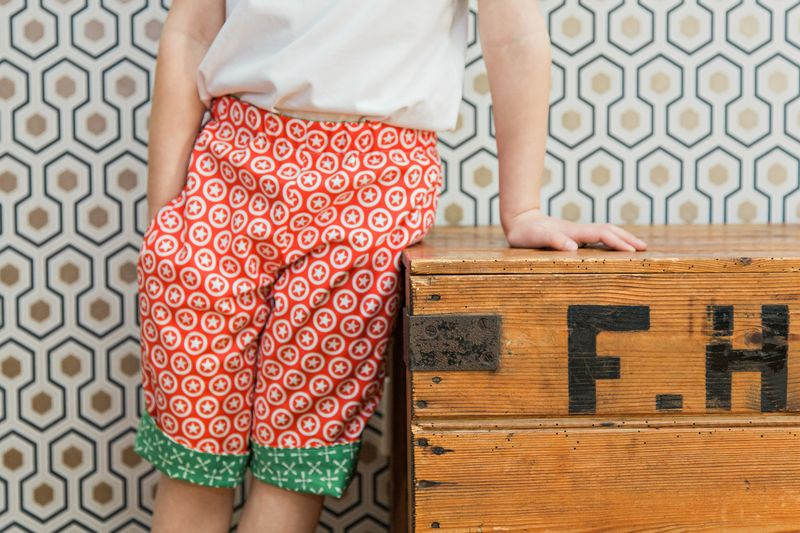 Reversible Shorts Pattern - product images  of