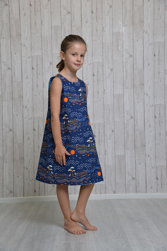 Reversible Dress Pattern - product images  of