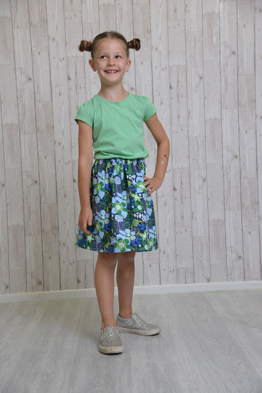 Reversible Skirt Instructions - product images  of