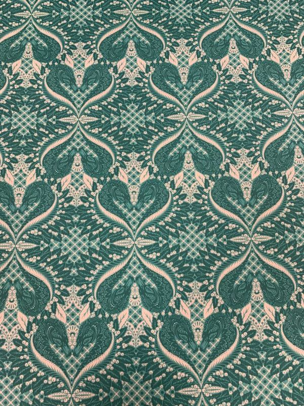 Gate Keeper from Pinkerville by Tula Pink in Teal - product images