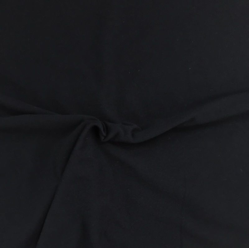 Plain Cotton Jersey in Black - product images