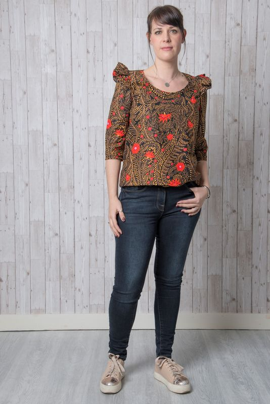 Emporia Patterns Iris Top Pattern - product images  of