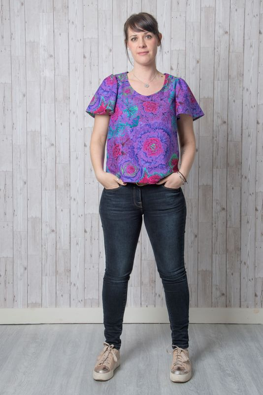 Iris Top Pattern - product images  of