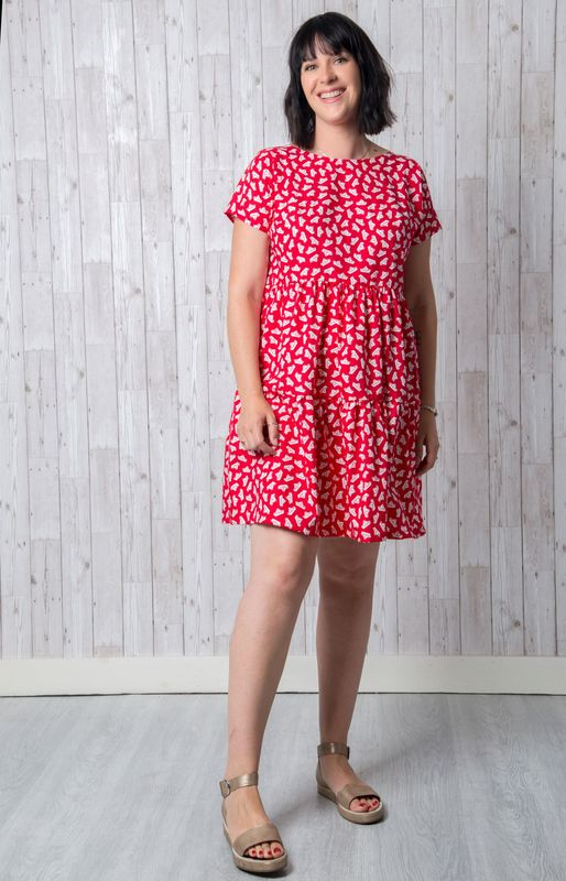 Cassie Dress Pattern - product images  of