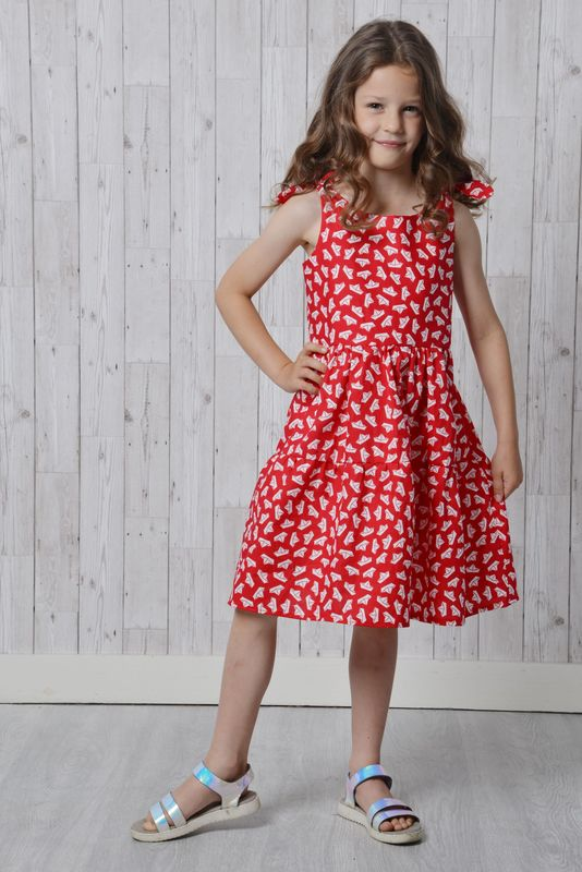 Bella Dress Pattern - product images  of