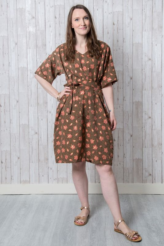 Emporia Patterns Kobi Dress Pattern - product images  of