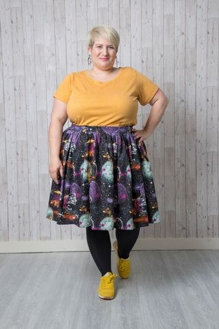 Emporia,Patterns,Simple,Gathered,Skirt,Instructions,simple gathered skirt pattern, gathered skirt, instructions, pattern, skirt, sewing, emporia, designs