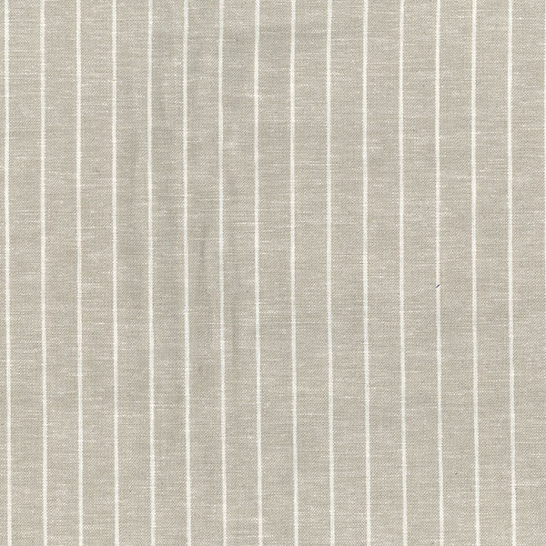 Yarn Dyed Linen Viscose Stripe in Beige - product images