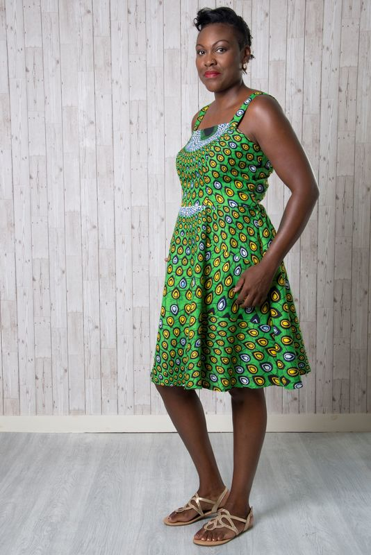 Emporia Patterns Florence Dress Pattern - product images  of