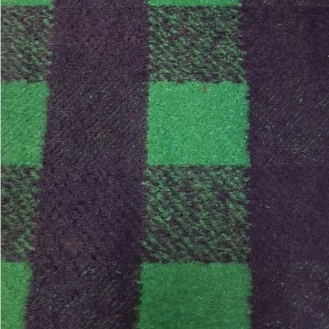 Wool,Blend,Check,in,Green,and,Blue,wool, blend, polyester, green, blue, check, coat, fabric, emporia
