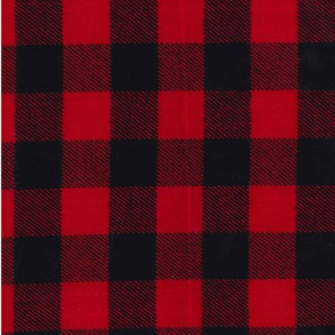 Heavyweight,Brushed,Cotton,in,Black,and,Red,Check,heavyweight, brushed, cotton, red, black, check, fabric, sewing, emporia