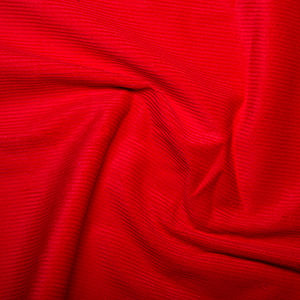 Corduroy,in,Bright,Red,corduroy, cord, bright, red, fabric, sewing, dress, making, emporia