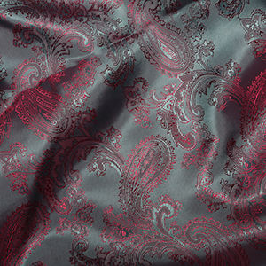 Paisley Jacquard Lining in Pink - product images