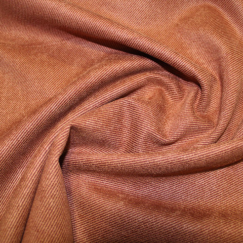 Suede,Twill,in,Rust,Orange,suede, twill, rust, orange, fabric, sewing, polyester, dress making, emporia