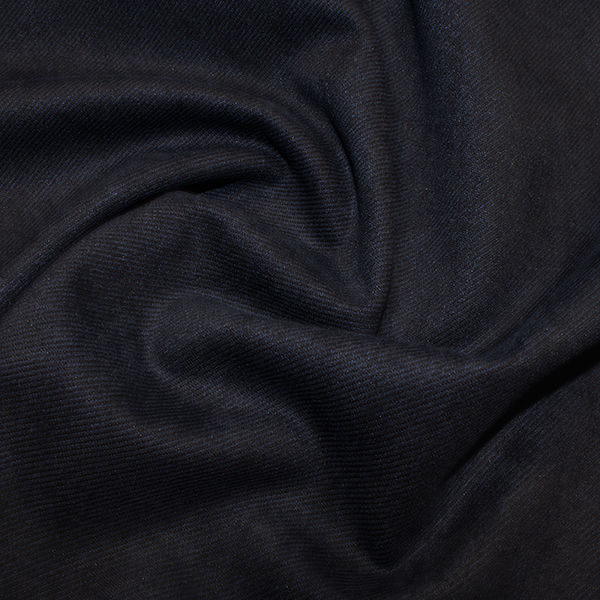 Suede Twill in Navy Blue - product images
