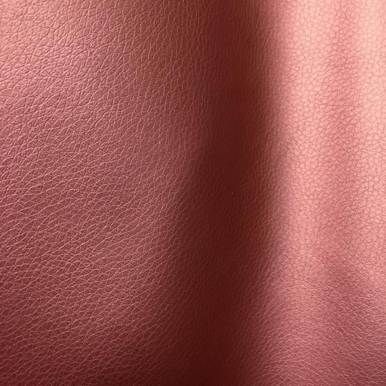 Metallic Faux Leather Pleather in Red - product images