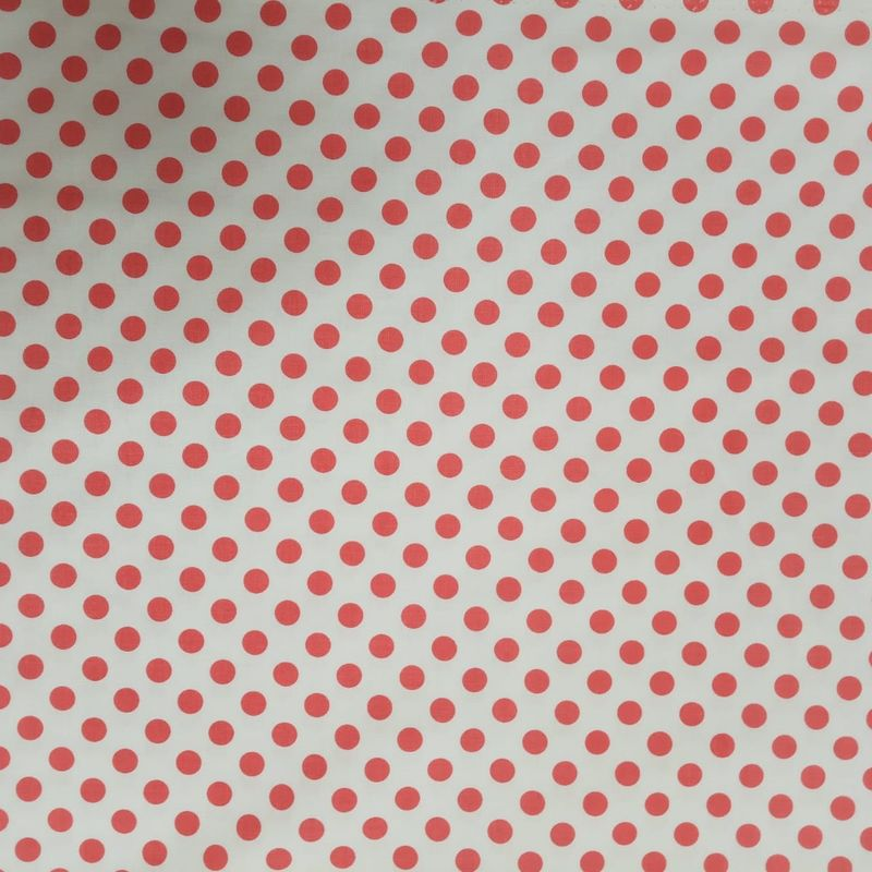 Red Polka Dots on White - product images