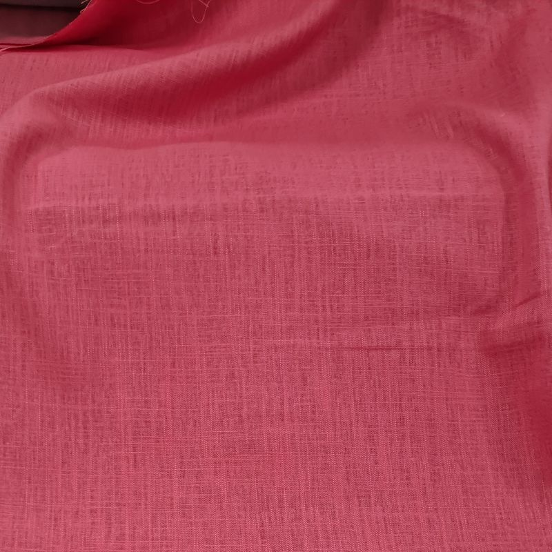 Linen Viscose in Coral Pink - product images  of