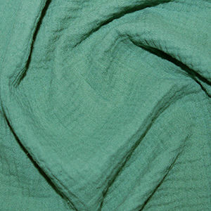 Plain,Double,Gauze,in,Ivy,Green,double gauze, ivy, green, plain, double, gauze, cotton, emporia, fabric