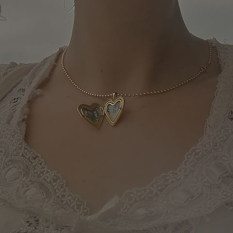 Deathcrush,Heart,Locket,Pendant