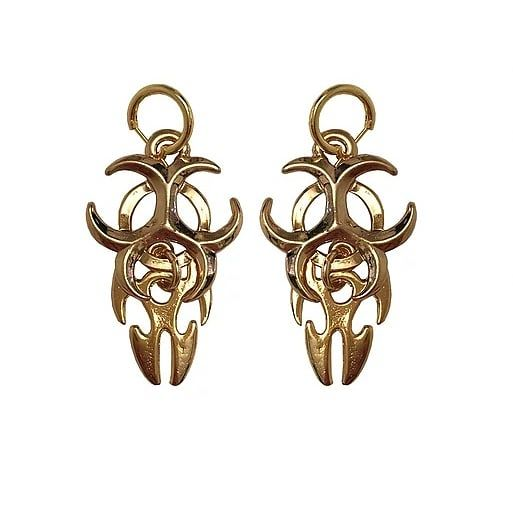 Empire earrings gold - product images  of