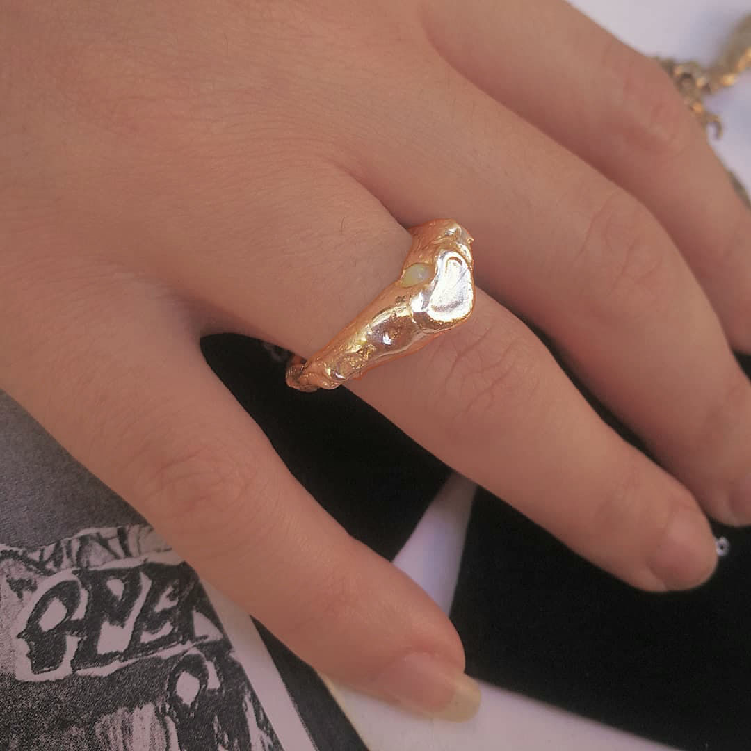 Goblin lover Signet ring - product images  of