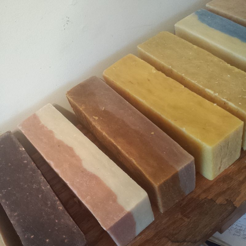 Vanilla and Oatmeal and Spice Soap
