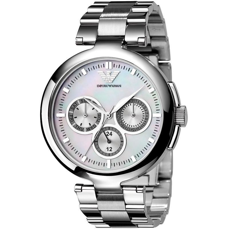 Armani Ladies Sliver Watch AR0734 - product images  of