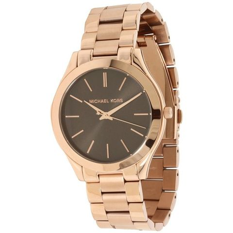 Michael,Kors,Women's,Runway,Gold,Brown,Watch,MK3181,Michael Kors runaway watch, michael kors gold watch, michael kors, michael, kors, michael kors MK3181