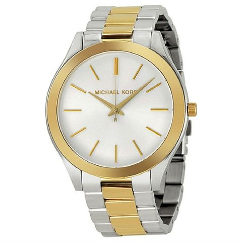 Michael,Kors,Women's,Runway,Sliver,Gold,Watch,MK3198,Michael Kors runaway watch, michael kors sliver gold watch, michael kors, michael, kors, michael kors MK3198