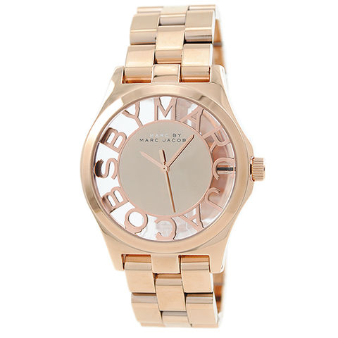 Marc,Jacobs,Women's,Rose,Gold,Henry,Skeleton,Watch,MBM3207,Marc jacobs henry skeleton, marc jacobs, marc jacobs MBM3207, marc jacobs rose gold