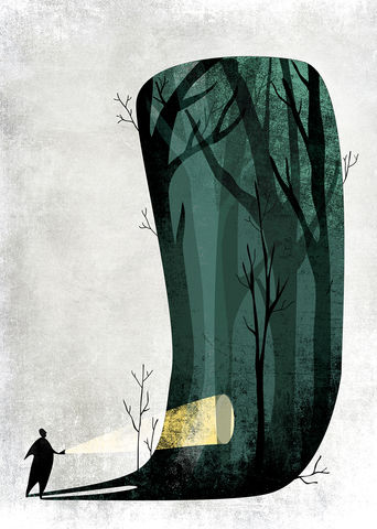 FEAR,screenprint, print, giclee,