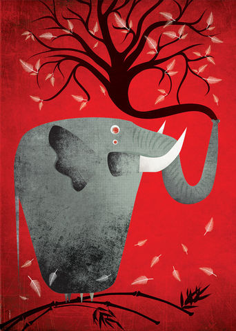 Unbreakable,poster, elephant, animal, unbreakable