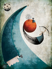 Flower,of,Solitude,Limited,Edition,flower of solitude,Loneliness, Fatinha Illustration, Fatinha Ramos