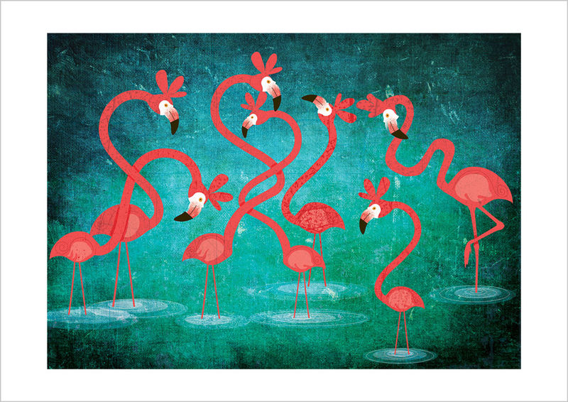 FLAMINGOS  Limited Edition - product images  of