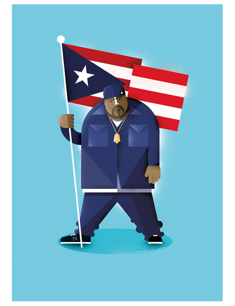 Big Pun print - product images  of